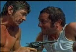 Charles Bronson and Tony Curtis in You Can't Win 'Em All